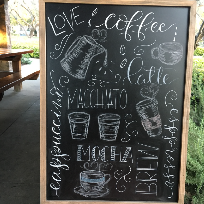 Featured Post #1 – Coffee Shop Sign