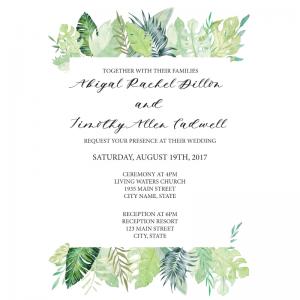 Foliage-Invite