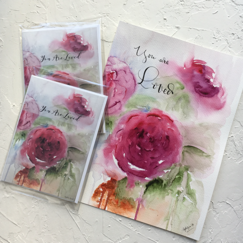 Featured Post3 – Peony Print and Cards