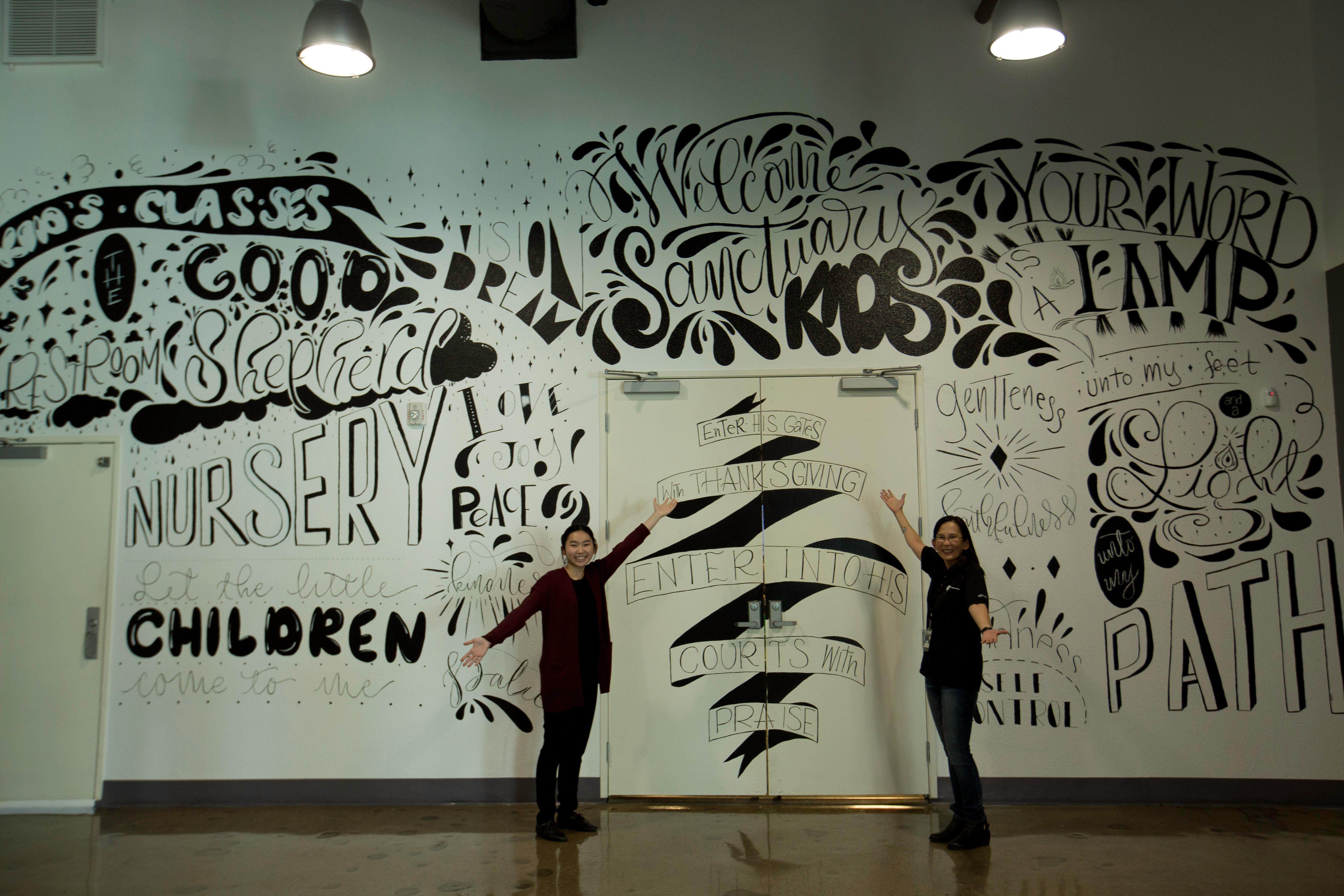 Services for Mural lettering