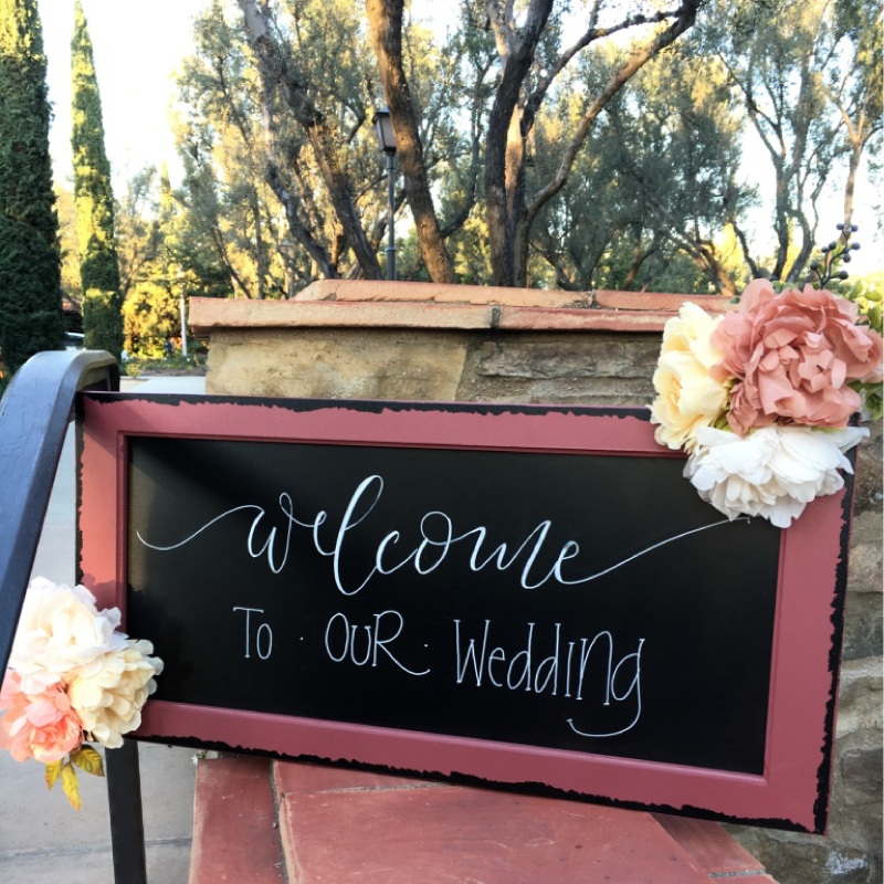 Featured Post 6-Welcome to Our Wedding