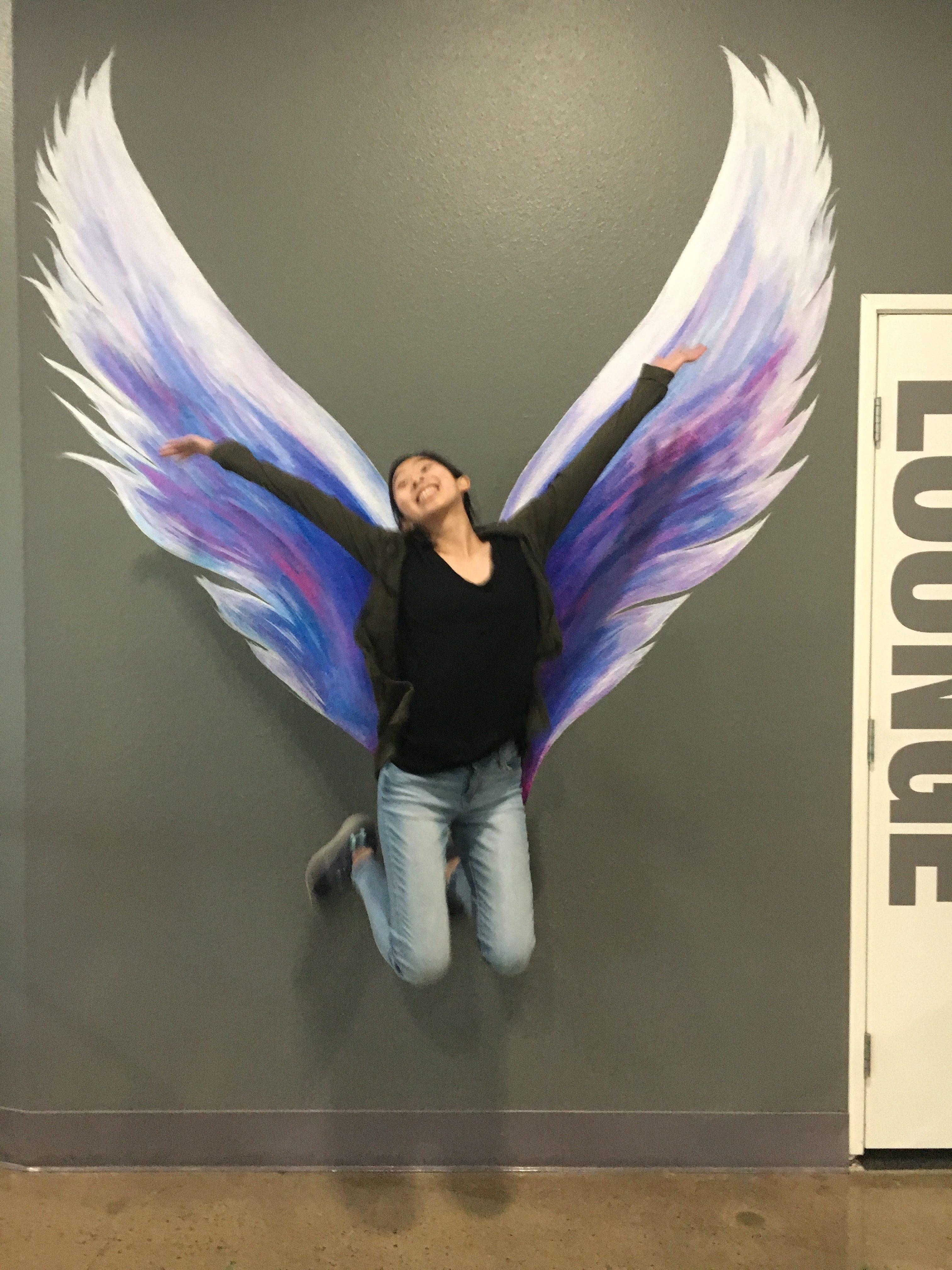 Angel Wings Wall Murals