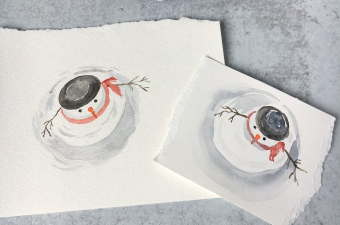 Free Watercolor Tutorial